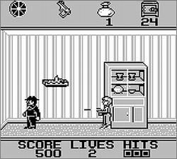 Pantallazo de Home Alone para Game Boy