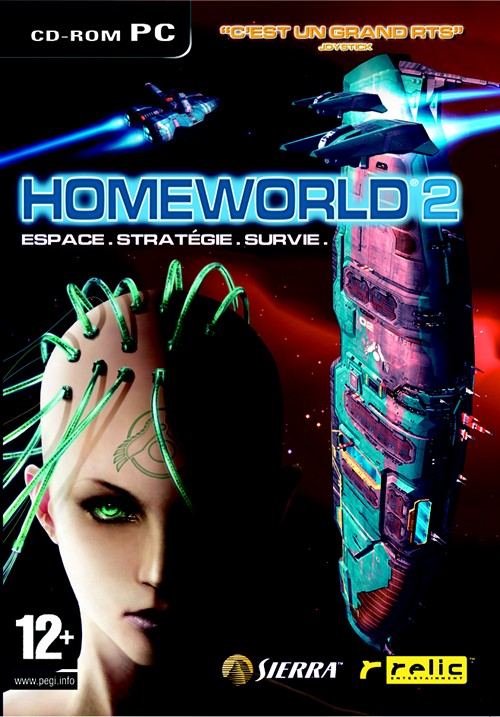 Caratula de Homeworld 2 para PC