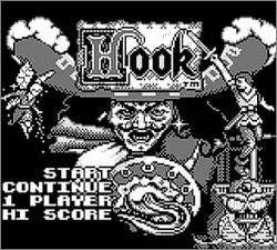 Pantallazo de Hook para Game Boy