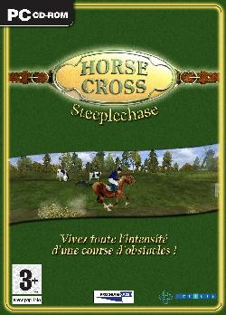 Caratula de Horse Cross Steeplechase  para PC