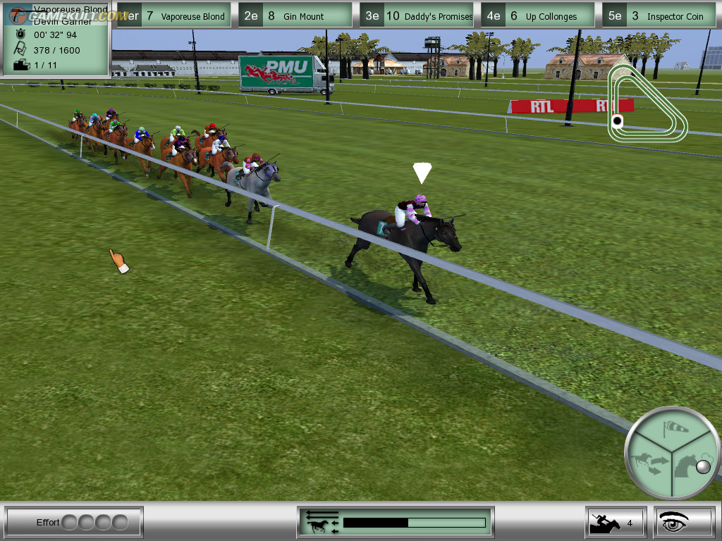 Pantallazo de Horse Racing Manager 2 para PC