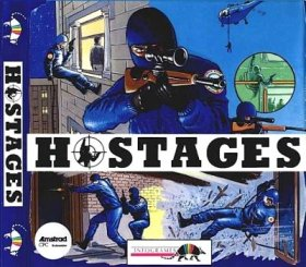 Caratula de Hostages (Operation Jupiter  Gign) para Amstrad CPC