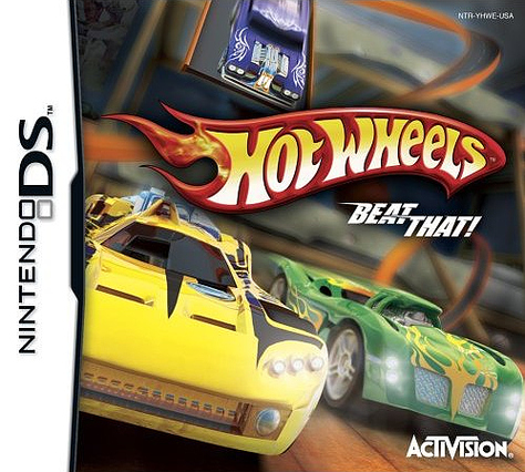 Caratula de Hot Wheels : Beat That para Nintendo DS