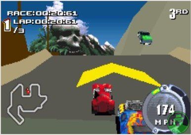 Pantallazo de Hot Wheels Stunt Track Challenge para Game Boy Advance