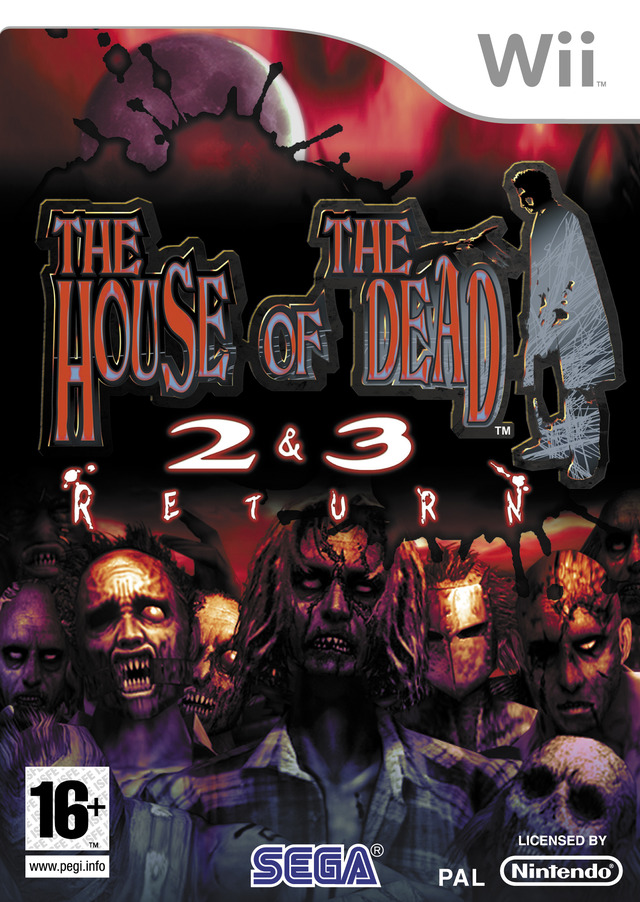 Caratula de House of the Dead 2&3 RETURN, The para Wii