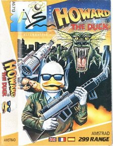 Caratula de Howard The Duck para Amstrad CPC