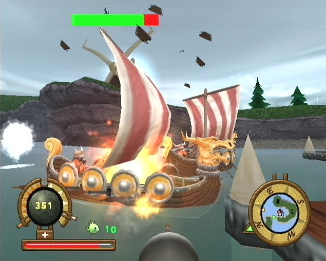 Pantallazo de Hugo: CannonCruise para PlayStation 2