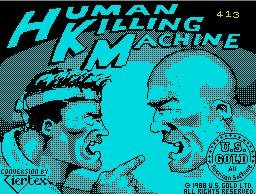 Pantallazo de Human Killing Machine para Spectrum