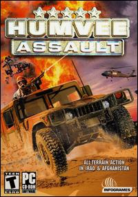 Caratula de Humvee Assault para PC