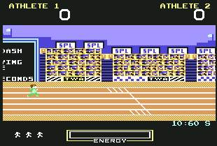 Pantallazo de Hunchback  at the Olympics para Commodore 64