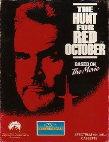 Caratula de Hunt For Red October: The Movie para Spectrum
