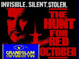 Pantallazo de Hunt For Red October: The Movie para Spectrum