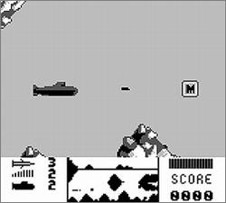 Pantallazo de Hunt for Red October, The para Game Boy