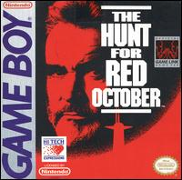 Caratula de Hunt for Red October, The para Game Boy