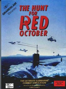 Caratula de Hunt for Red October, The para Spectrum