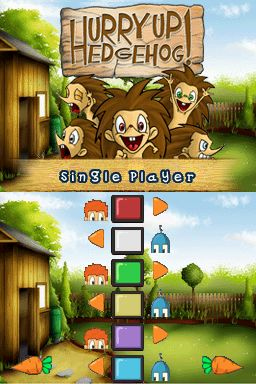 Pantallazo de Hurry Up Hedgehog! para Nintendo DS