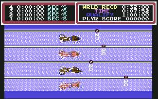 Pantallazo de Hyper Sports para Commodore 64