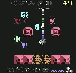 Pantallazo de I, Ball para Commodore 64