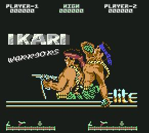 Pantallazo de Ikari Warriors para Commodore 64