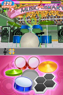 Pantallazo de Imagine Rock Star para Nintendo DS