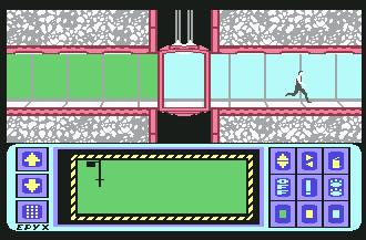 Pantallazo de Impossible Mission para Commodore 64