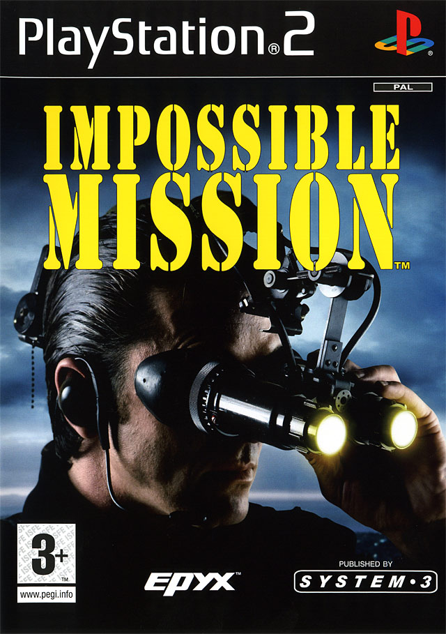 Caratula de Impossible Mission para PlayStation 2