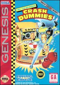 Caratula de Incredible Crash Dummies, The para Sega Megadrive