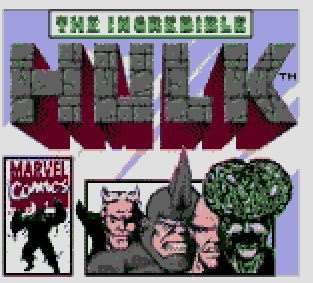 Pantallazo de Incredible Hulk, The para Gamegear