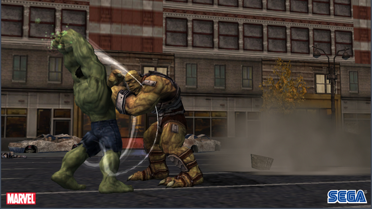 Pantallazo de Incredible Hulk, The para Wii