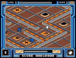 Pantallazo de Incredible Shrinking Sphere / Iss para Amstrad CPC
