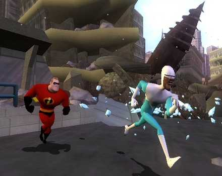 Pantallazo de Incredibles: Rise of the Underminer, The para GameCube