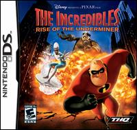 Caratula de Incredibles: Rise of the Underminer, The para Nintendo DS
