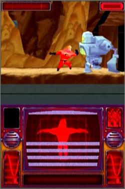 Pantallazo de Incredibles: Rise of the Underminer, The para Nintendo DS