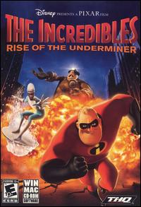 Caratula de Incredibles: Rise of the Underminer, The para PC