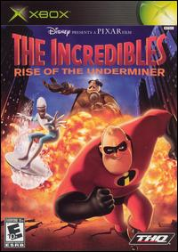 Caratula de Incredibles: Rise of the Underminer, The para Xbox