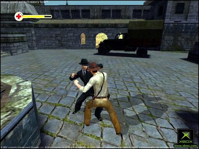 Pantallazo de Indiana Jones and the Emperor's Tomb para Xbox