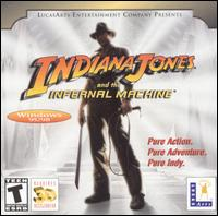 Caratula de Indiana Jones and the Infernal Machine [Jewel Case] para PC