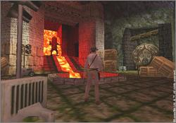 Pantallazo de Indiana Jones and the Infernal Machine para Nintendo 64