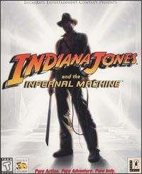 Caratula de Indiana Jones and the Infernal Machine para PC