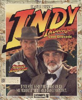 Caratula de Indiana Jones and the Last Crusade [3.5