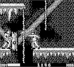 Pantallazo de Indiana Jones and the Last Crusade para Game Boy