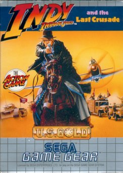 Caratula de Indiana Jones and the Last Crusade para Gamegear