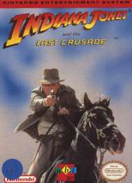 Caratula de Indiana Jones and the Last Crusade para Nintendo (NES)
