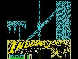 Pantallazo de Indiana Jones and the Last Crusade para Spectrum