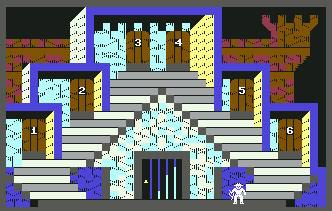 Pantallazo de Indiana Jones in the Lost Kingdom para Commodore 64