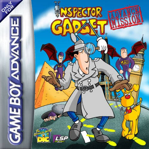 Caratula de Inspector Gadget: Advance Mission para Game Boy Advance