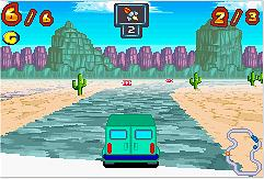 Pantallazo de Inspector Gadget Racing para Game Boy Advance