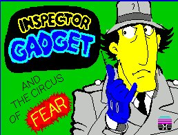 Pantallazo de Inspector Gadget and the Circus of Fear para Spectrum