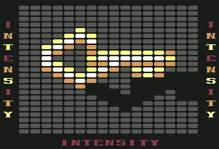 Pantallazo de Intensity para Commodore 64