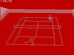 Pantallazo de International 3D Tennis para Spectrum